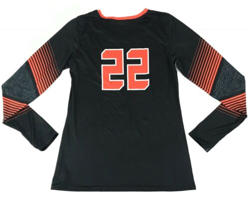 New Under Armour Women/'s L Auburn Tigers Long Sleeve Volleyball Jersey #22