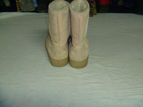 WOMEN/'S WINTER P-BXBASIC BOOTS SIZE 8 COLOR KHAKI EM 2497