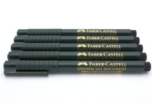 Farbe Sparpack wählbar schwarz FABER-CASTELL Tintenfeinschreiber FINEPEN 1511