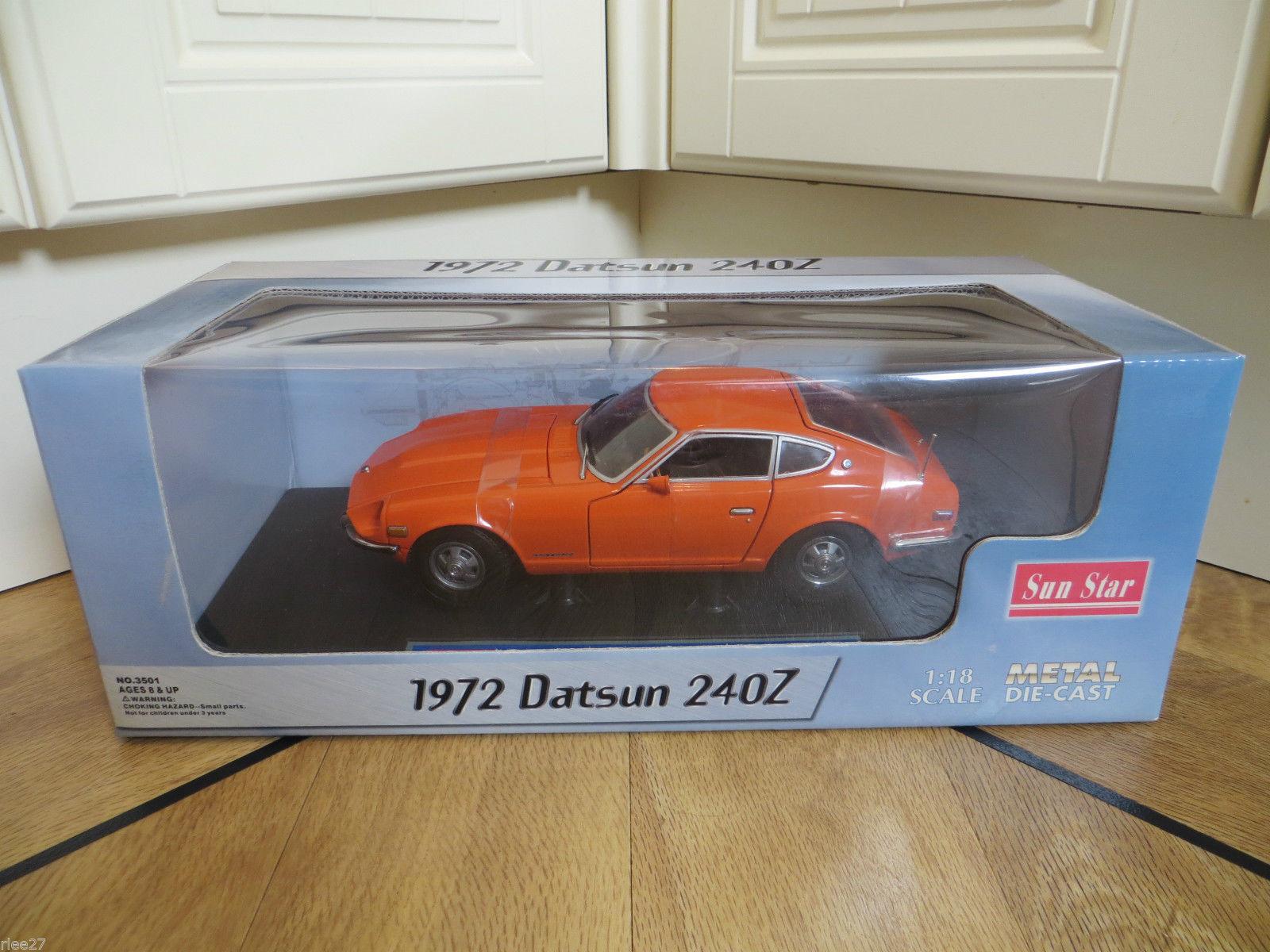 1972 datsun 240z druckguss - auto von sun star skala größe 18