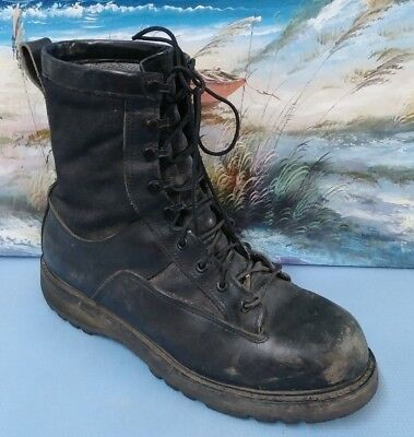 Bates Black Military Boots Vibram Sole Gore Tex Men S 11r