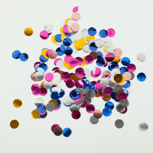 Colorful Round Throwing Confetti 10g Tissue Paper Birthday Wedding Party Decor