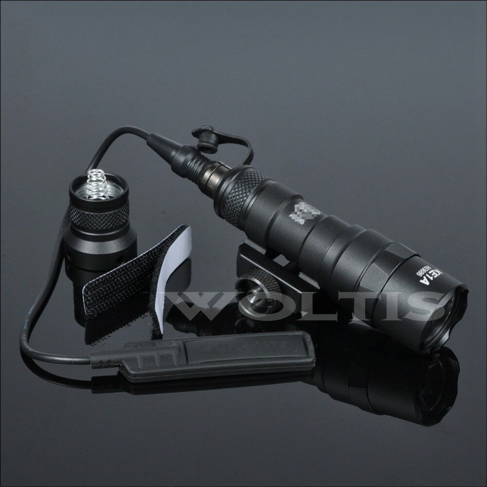 M300B Scout Light Tactical Torch Flashlight 400 Lumen LED Light w  Tail Switch