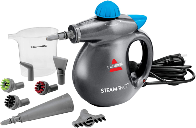 Hard Surface Steam Cleaner Hand Held Steamer Electric Portable 1000W Bissell