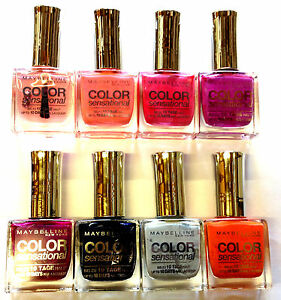 Image Is Loading Maybelline Color Sensational 10 Days Nail Polish Brand