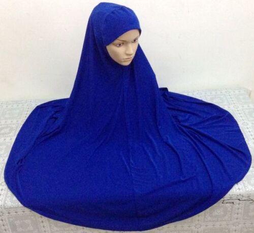 Hot Muslim Women Prayer Big Hijab Islamic Large Overhead Dress Long Scarf Shawls