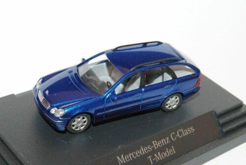 Mercedes-Benz Classe C w203 T-Modèle Combi Bleu 2000-2007 h0 1//87 Busch Modèle...