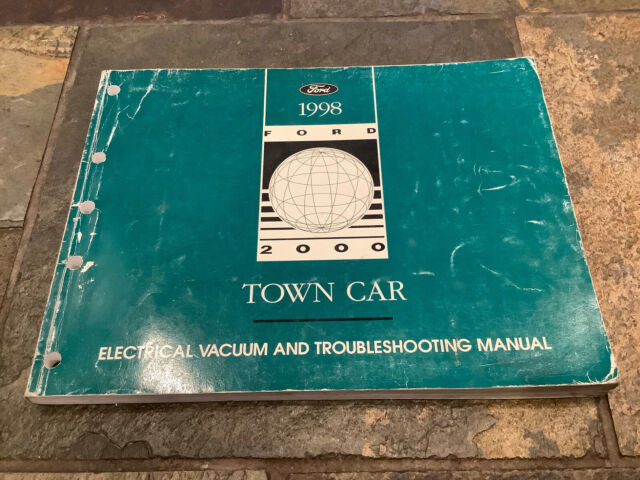 1998 Lincoln Town Car Wiring Diagrams Electrical Service Manual