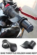 Bike Throttle Grip Accelerator Cruise Control Hand Rest Handle Bar Accessory