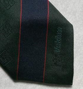 100% De Qualité Vintage Cravate Homme Cravate Rétro 1980 S Chaudières Tous Soie-afficher Le Titre D'origine