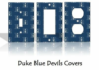 Duke Blue Devils Light Switch Covers Football NCAA Home Decor Outlet