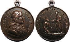"""Pio IX, medaglia per l'Elezione al Pontificato """"Claves Regni Caelor"""" (1846)"""