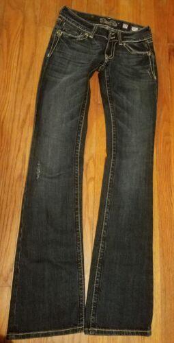 Euc Sz Miss abbellito Me Bling Cut Boot Jp5046 Fibbia 27 Jeans Cross Tnz6PPqw