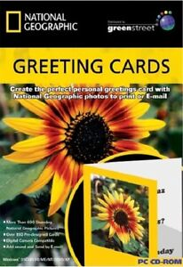 National Geographic Greeting Cards PC CDRom - <span itemprop=availableAtOrFrom>Taunton, Somerset, United Kingdom</span> - Returns accepted Most purchases from business sellers are protected by the Consumer Contract Regulations 2013 which give you the right to cancel the purchase within 14 days afte - Taunton, Somerset, United Kingdom