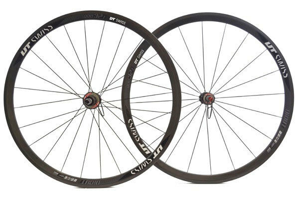 DT Swiss Di-Cut RRC 32T 700c Wheelset + Schwalbe Ultremo Tyres