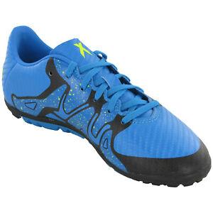 Adidas-X15-3-TF-J-Football-Baskets-Enfants-Junior-Unisexe-Astro-Soccer-Shoes-S77898