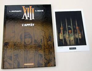 XIII-VANCE-VAN-HAMME-L-APPAT-DARGAUD-EO-2012-TIRAGE-LIMITE-1000-EX-EXLIB-NR