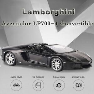 Maisto-1-24-Lamborghini-Aventador-Lp-Modelo-automovil-de-fundicion-700-Convertible-Roadster