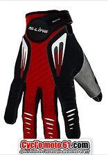 Gants moto cross S-line 099 Noir / Rouge Taille XS