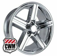18 Inch 18x8 Iroc Z Chrome Oe Replica Wheels Rims For Chevy Camaro 1982-1992