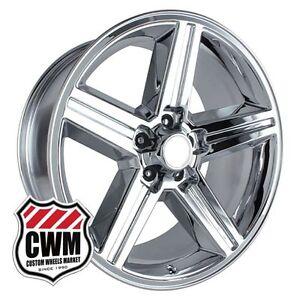 18 Inch 18x8 Iroc Z Chrome Oe Replica Wheels Rims For Chevy El