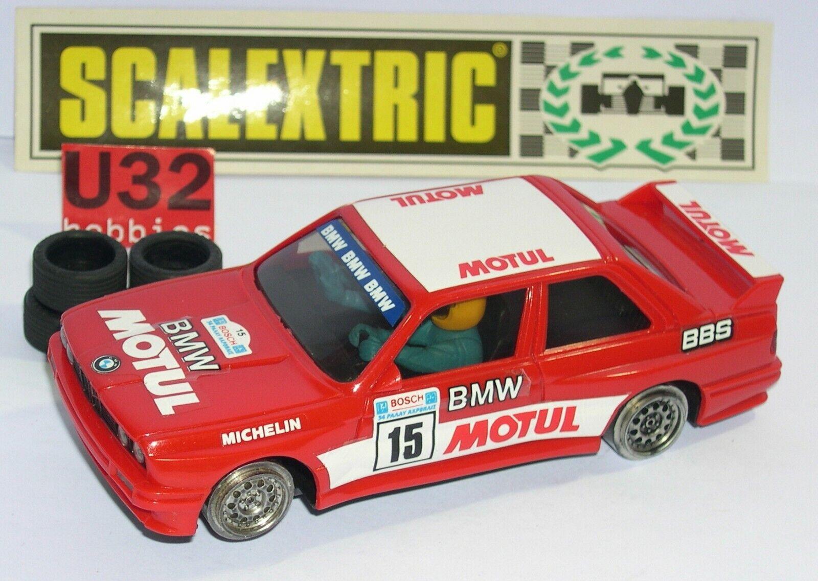 Scalextric Exin 4092 BMW M3 #15 Motul Eccellente Condizioni Unboxed