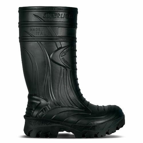 Cofra Thermic Safety Black Wellingtons Size 8 UK