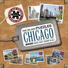 Chicago Four Two-sided Puzzles by Editors of Thunder Bay Press Hardcover Book (