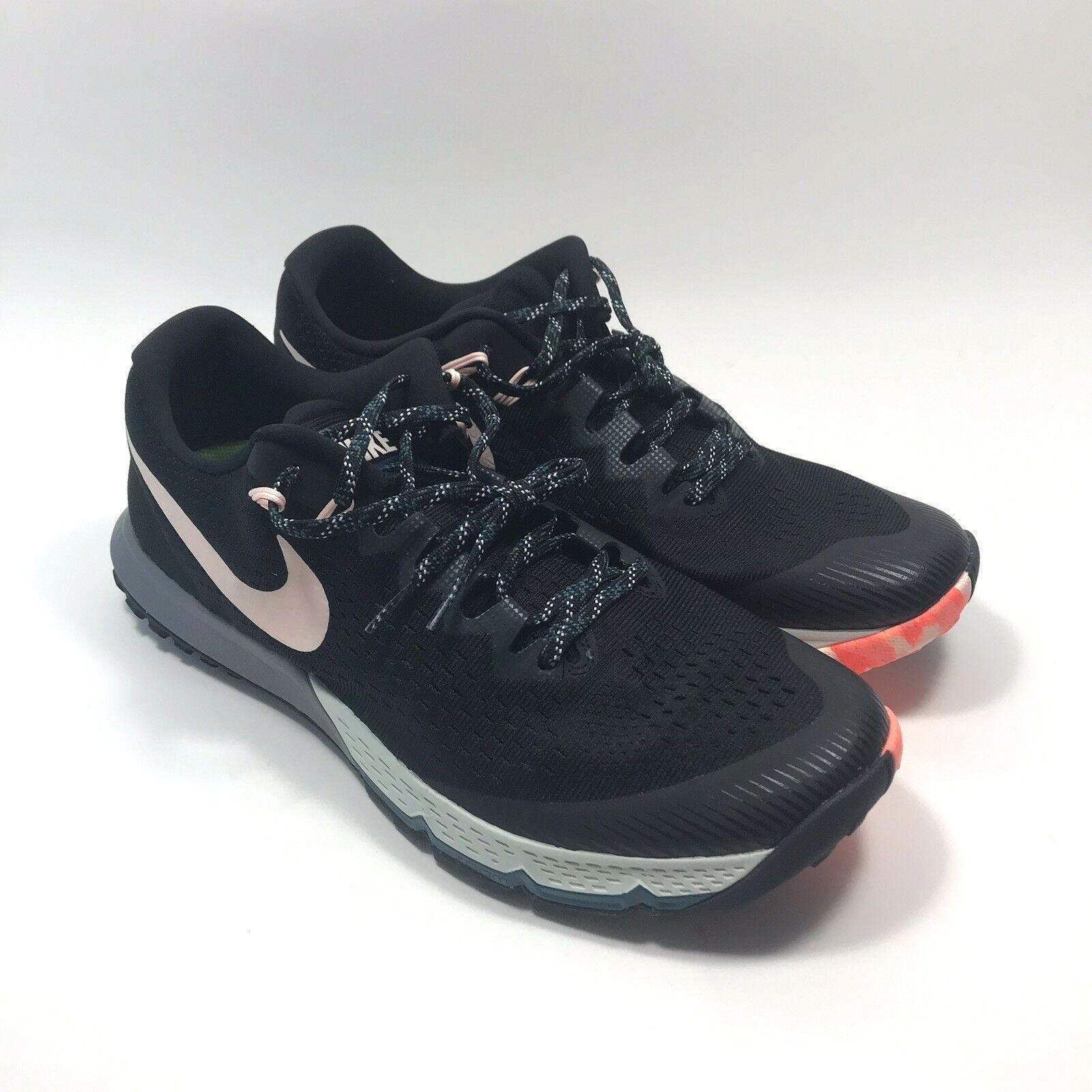 Nike Air Zoom Terra Kiger 4 trail shoes Black Men's Size 10 880563-004