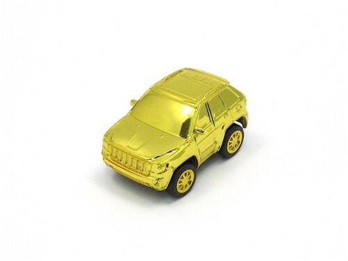 WONDA Shining Gold Plated Mini Car Model Collection Jeep Grand Cherokee 2011
