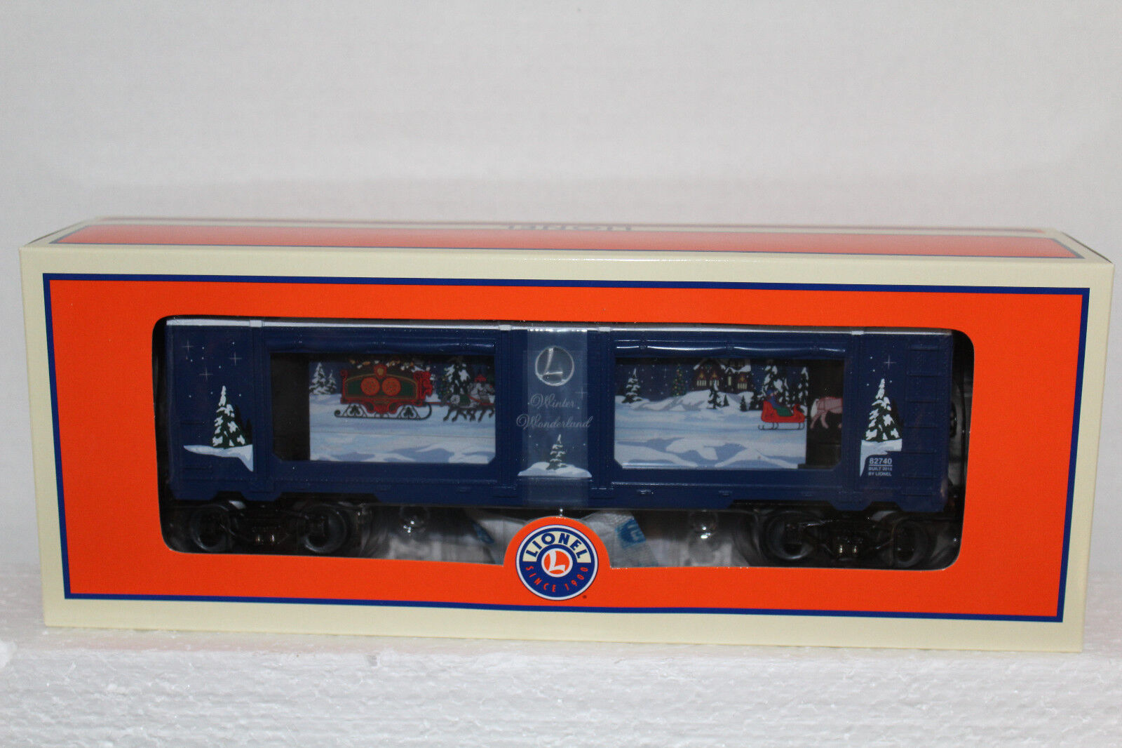 LIONEL 35;82740 Natale L'auto dell'acquario delle meraviglie invernali