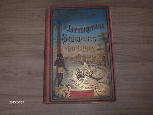 Details Sur Livre Ancien Datant De 1891 Litterature Sciences Voyages