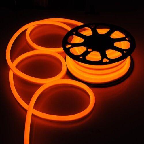 50/' Flex LED Neon Rope Light Wedding Party Building Xmas Home Sign Decor Outdoor
