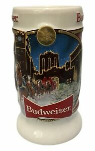 2020-Budweiser-Holiday-stein-from-annual-Christmas-series-LATEST-NEW-BEER-MUG