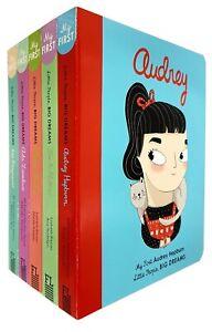 Little-People-Big-Dreams-Series-2-Collection-5-Books-Set-Amaia-Arrazola-NEW