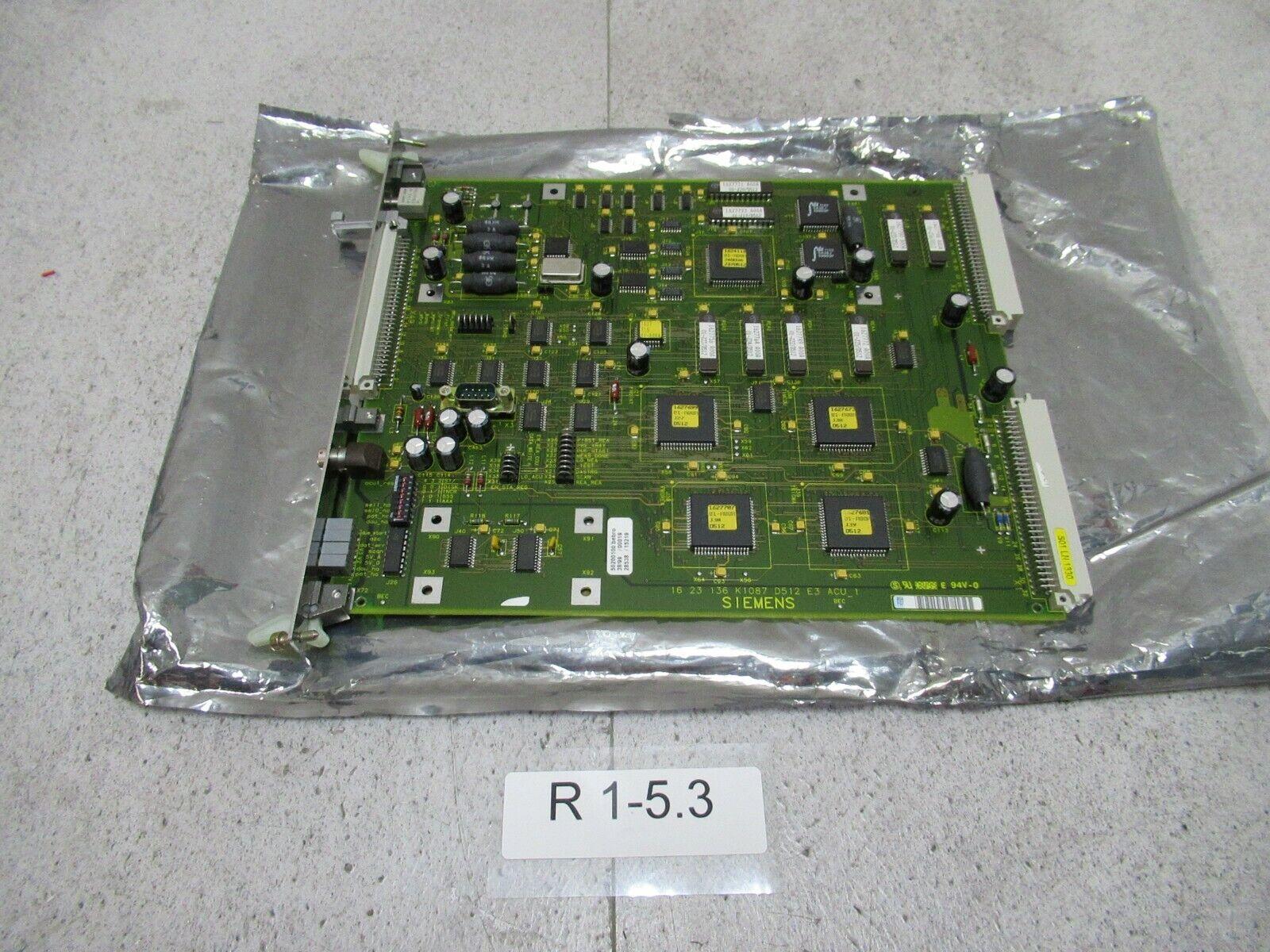 Siemens 1623136k1087 deck board siemens d512 ACU _ 1