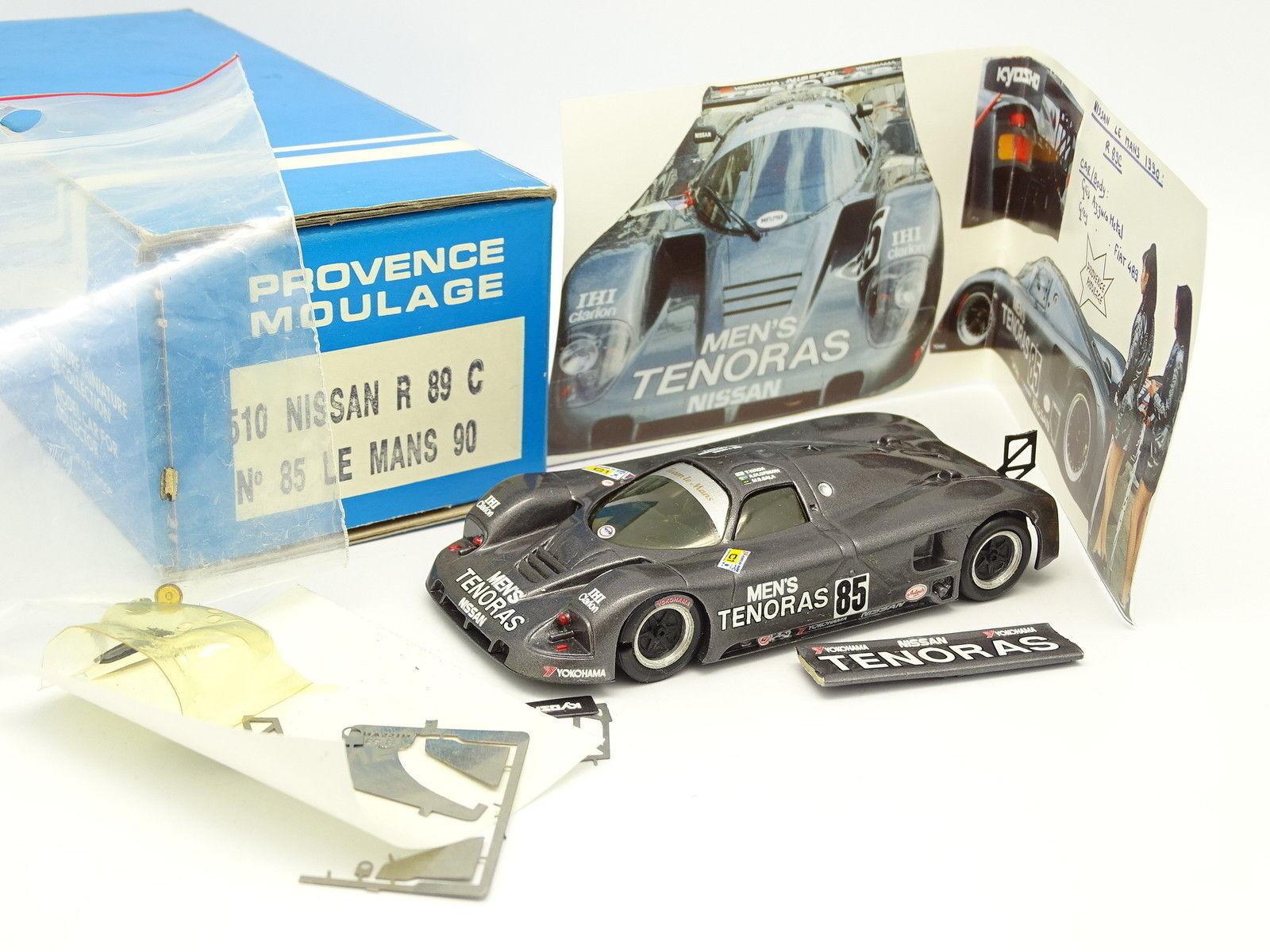 Provence Moulage Kit à Monter 1 43 - Nissan R89 C N°85 Le Mans 1990