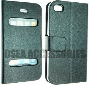 For-Apple-Iphone-4-4G-4S-PU-Leather-Case-Cover-Protector-Screen-Wallet-Book-Flip