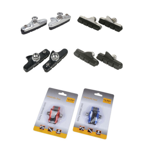 1 Pair Road Bike Bicycle Brake Shoes Pads For C-Brake Cycling Fittings Parts