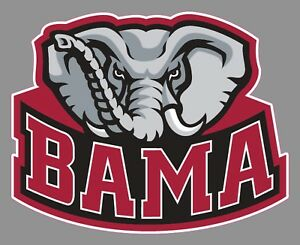 university of alabama ua alternate bama logo crimson tide 6 vinyl rh ebay com alabama logo pictures pictures of alabama logo