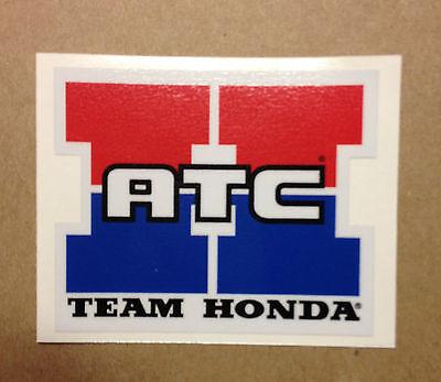 "Team Honda ATC Reproduction Decal 3.25/"" 250R 350X 70 200X"