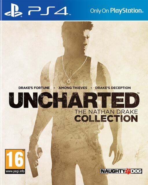 UNCHARTED: The Nathan Drake Collection PS4 BRAND NEW SEALED UK OFFICIAL