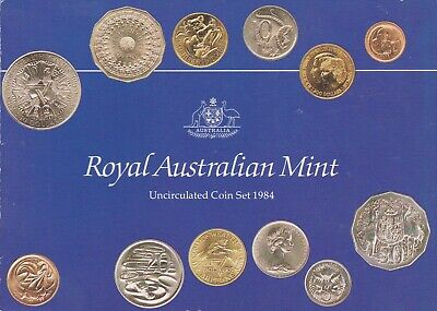 Australia 1981 RAM unc coin year set In original Red Wallet CB638