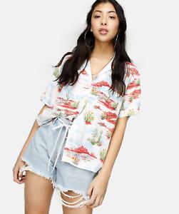 WRANGLER-Cactus-Print-Button-034-Cuban-034-Summer-Shirt-NEW-IN-PACKAGING-XS-UK-8