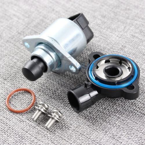 Throttle Position Sensor+TPS Idle Air Control Valve For Chevy GMC Buick Cadillac