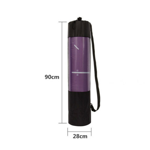 Yoga Mat Waterproof Backpack Yoga Bag Nylon Carrier Mesh Adjustable Strap N  F