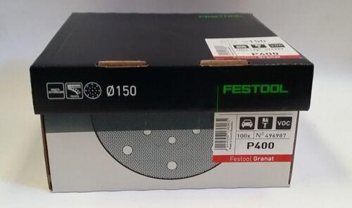 DISCO GRANAT FESTOOL 496980 P150 496981 P180 496982 P220 496983 P240 496984 P280