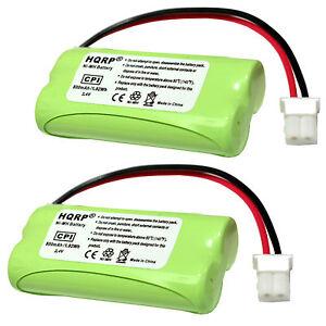 2-Pack-HQRP-Battery-for-VTech-C-D-L-S-Series-Cordless-Phones-BT162342-BT262342