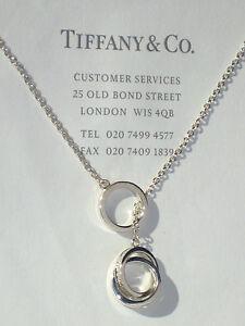 Tiffany co sterling silver 1837 interlocking circles lariat image is loading tiffany amp co sterling silver 1837 interlocking circles aloadofball Gallery