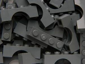 LEGO ARCH 1x6 x20 pieces # DARK STONE GREY # bridge window wall castle